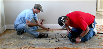 We are the tile removal & floor removal experts